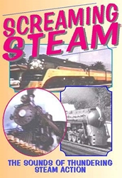 Screaming Steam! The Sounds of Thundering Steam Action (DVD), Non-Fiction Video Aviation DVDs Item Number DV412