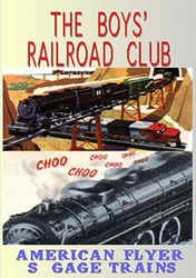 The  Boys Railroad Club American Flyer S Gage Trains (DVD), Non-Fiction Video Aviation DVDs Item Number DV421