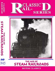 The Age Of Steam Railroads (DVD), Non-Fiction Video Aviation DVDs Item Number DV425