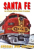 Santa Fe, The Atchison Topeka & Santa Fe Railroad (DVD), Non-Fiction Video Aviation DVDs Item Number DV428