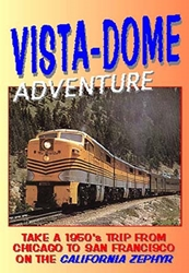 Vista-Dome Adventure (DVD), Non-Fiction Video Aviation DVDs Item Number DV443