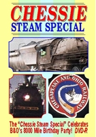 Chessie Steam Special (DVD), Non-Fiction Video Aviation DVDs Item Number DV454