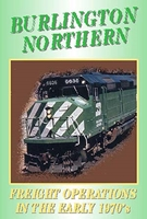 Burlington Northern Freight Operations In The Early 1970s (DVD), Non-Fiction Video Aviation DVDs Item Number DV456