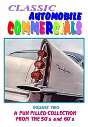 Classic Automobile Commercials, Volume Two: A Fun Filled Collection From The 50s and 60s (DVD), Non-Fiction Video Aviation DVDs Item Number DV596
