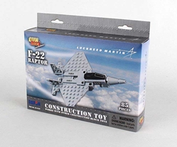 F-22 Raptor 80 Piece Construction Toy, Best Lock, Item Number BL14187
