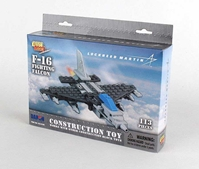 F-16 110 Piece Construction Toy, Best Lock, Item Number BL14188