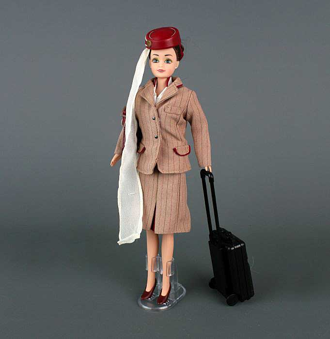Emirates Cabin Crew Doll Brunette In Box by Daron Toys Item Number DA58993