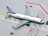 United Express ERJ-170 N634RW Blue Tulip Colors (1:200), GeminiJets 200 Diecast Airliners, Item Number G2UAL352