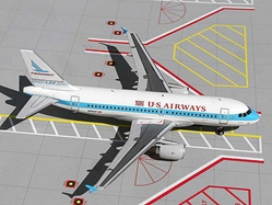"US Airways Airbus 319 ""Piedmont Heritage Colors"" (1:200) - Limited Production Run, GeminiJets 200 Diecast Airliners, Item Number G2USA076"