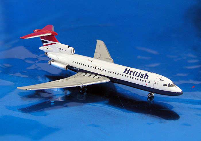 British Trident 2E (1:400), GeminiJets 400 Diecast Airliners, Item Number GJBAW753