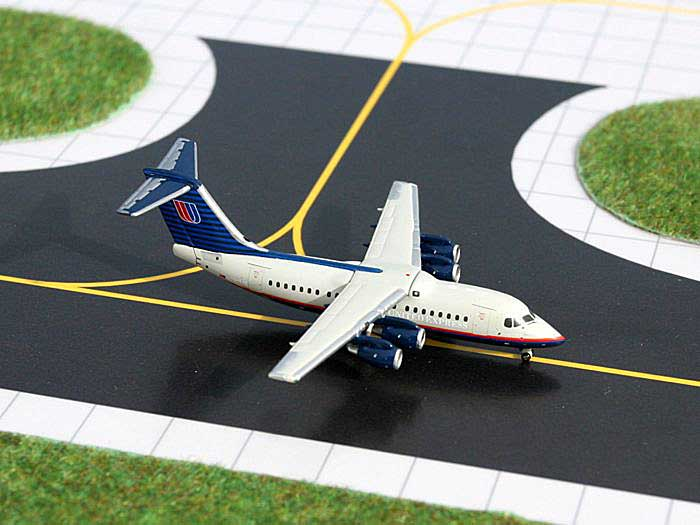 United Express Bae 146-200 (1:400), GeminiJets 400 Diecast Airliners, Item Number GJUAL761