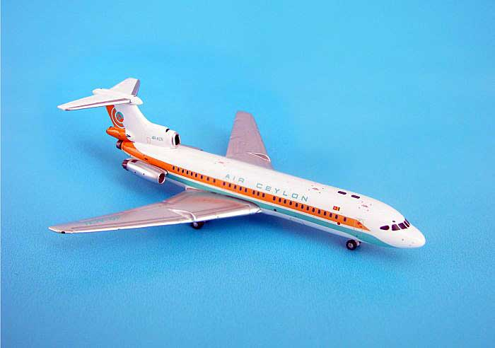 Air Ceylon Trident 1E (1:400), GeminiJets 400 Diecast Airliners, Item Number GJACE773