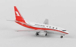 Shanghai B737-700 Winglets B-5808 with Antenna (1:400), JC Wings Diecast Airliners, Item Number JC4CSH607