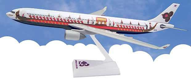 Thai Royal Barge A330-300 (1:200), Flight Miniatures Snap-Fit Airliners, Item Number AB-33030H-500