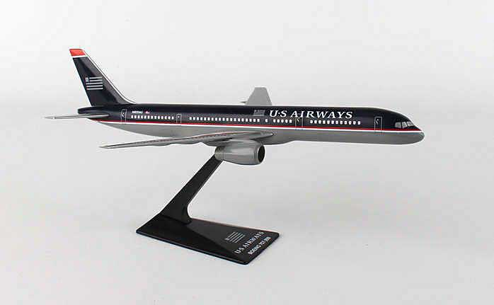 US Air 757-200 (1:200), Flight Miniatures Snap-Fit Airliners, Item Number BO-75720H-01