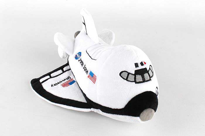 Space Shuttle Plush Toy with Sound, Daron Toys, Item Number MT003-1