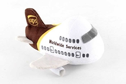 UPS Airplane Plush Toy with Sound, Daron Toys, Item Number MT031