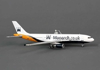 Monarch A300-600 G-MAJS (1:400), Phoenix 1:400 Scale Diecast Aircraft, Item Number PH4MON1187