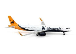 Monarch A321 G-ZBAO (1:400), Phoenix 1:400 Scale Diecast Aircraft, Item Number PH4MON1244