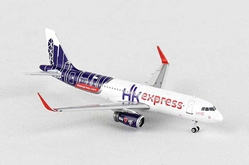 Hong Kong Express A320 B-LCC ((1:400)), Phoenix (1:400) Scale Diecast Aircraft, Item Number PH4HKE1314