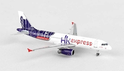 Hong Kong Express A320 Sharklet B-LCB ((1:400)), Phoenix (1:400) Scale Diecast Aircraft, Item Number PH4HKE1315
