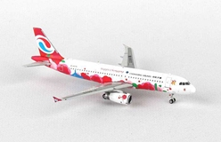 "Chongquing Airlines Airbus A320 ""Happy Chongqing"" B-6576 (1:400), Phoenix 1:400 Scale Diecast Aircraft, Item Number PH4CQN1448"