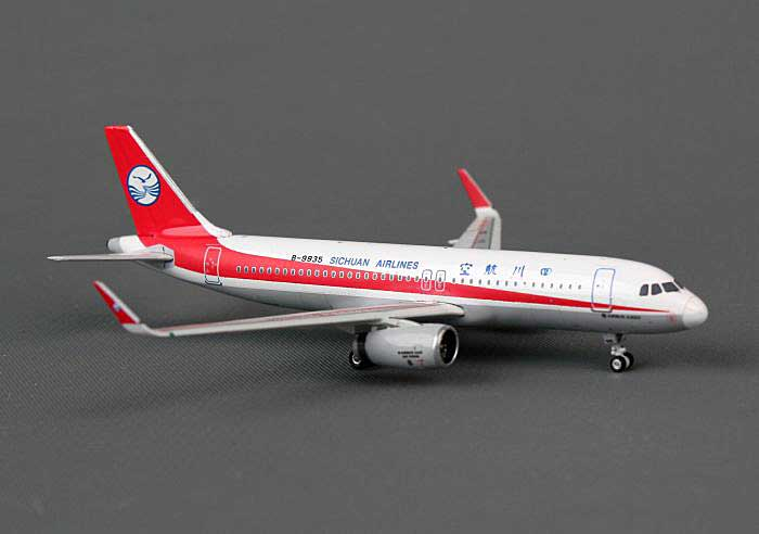 Sichuan A320 with Sharklets B-9935 (1:400), Phoenix 1:400 Scale Diecast Aircraft, Item Number PH4CSC959
