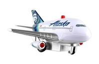 "Alaska Airlines ""New Livery"" Pullback With Lights & Sound, Toytech, Item Number TT990-1"