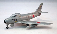 North American F-86F Sabre , JASDF (1:100) by De Agostini Diecast Aircraft Item Number: DAJSDF17
