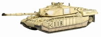 Challenger 2 HQ Squadron Command Troop Royal Scots Dragoon Guards, 7th Armored Brigade Iraq 2003 - Value Plus Series (1:72), Dragon Diecast Armor Item Number DRR62017