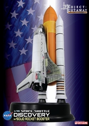 "Space Shuttle ""Discovery"" w/Solid Rocket Booster (1:144) Detailed Cutaway Model, DragonWings 1:144 scale Diecast Warbirds Item Number DRP47403"