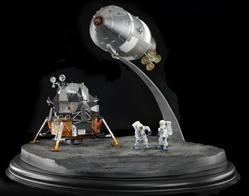 "NASA Apollo 11 ""Lunar Landing"" CSM ""Columbia"" + LM ""Eagle"" + Astronauts (1:72), DragonWings 1:72 Scale Diecast Warbirds Item Number DRW50381"