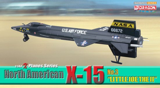 "North American X-15 No.3 ""Little Joe The II"" (1:144), DragonWings 1:144 scale Diecast Warbirds Item Number DRW51031"