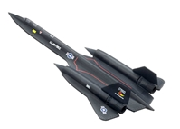"SR-71 A Blackbird ""Rosemary's Baby-San"" (1:400), DragonWings 400 Diecast Airliners Item Number DRW56222"