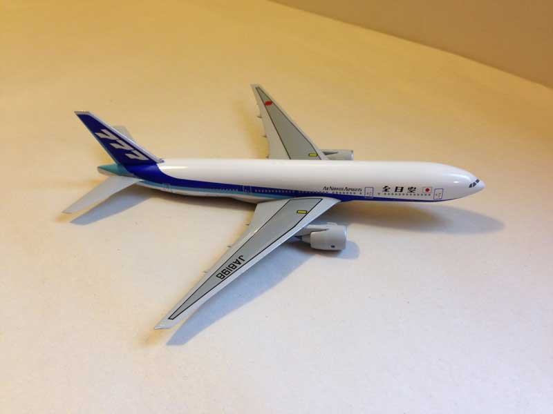 ANA All Nippon Airways B 777-281 1:400, DragonWings 400 Diecast Airliners Item Number DRW61405A