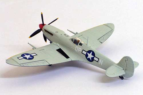 US Army Air Force MK.IX Spitfire (1:72), GeminiAces 72 Diecast Fighters Item Number GAUSA1004