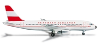 Austrian A320 (1:500) Retrojet OE-LBP, Herpa 1:500 Scale Diecast Airliners Item Number HE524247