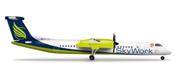 Sky Work Dash 8-Q400 (1:500), Herpa 1:500 Scale Diecast Airliners Item Number HE524377