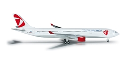 CSA Airbus A330-300 (1:500) Registration OK-YBA, Herpa 1:500 Scale Diecast Airliners Item Number HE524520