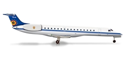 Belgian Air Component ERJ-145 (1:500), Herpa 1:500 Scale Diecast Airliners Item Number HE526050