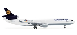 Lufthansa Cargo MD-11F (1:500) Aktion Deutschland, Herpa 1:500 Scale Diecast Airliners Item Number HE526104