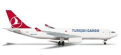 Turkish Cargo A330-200F (1:500), Herpa 1:500 Scale Diecast Airliners Item Number HE526142