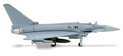 Eurofighter Typhoon, Austrian Air Force (1:200) Uberwachungsgeschwader, Herpa 1:200 Scale Diecast Airliners Item Number HE553094-001