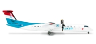 Luxair Dash 8-Q400 (1:200), Herpa 1:200 Scale Diecast Airliners Item Number HE555975