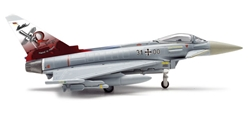 Luftwaffe Eurofighter Typhoon (1:200) JABOG531 Boelcke, Herpa 1:200 Scale Diecast Airliners Item Number HE556026