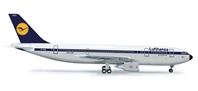 Lufthansa A300B2 (1:200), Herpa 1:200 Scale Diecast Airliners Item Number HE556057