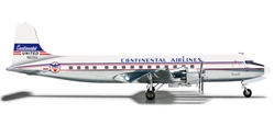 Continental DC-6B (1:200) REG# N90961, Herpa 1:200 Scale Diecast Airliners Item Number HE556156