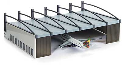 Airport Hangar (1:500), Herpa 1:500 Scale Diecast Airliners Item Number HE519762