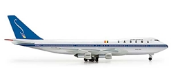 Sabena 747-100 (1:500), Herpa 1:500 Scale Diecast Airliners Item Number HE523127