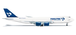Panalpina 747-8F (1:500), Herpa 1:500 Scale Diecast Airliners Item Number HE523783
